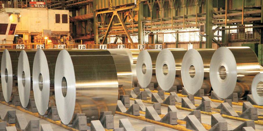 رشد تولیدات زنجیره فولاد/ افت ۳۰ درصدی تولید مس