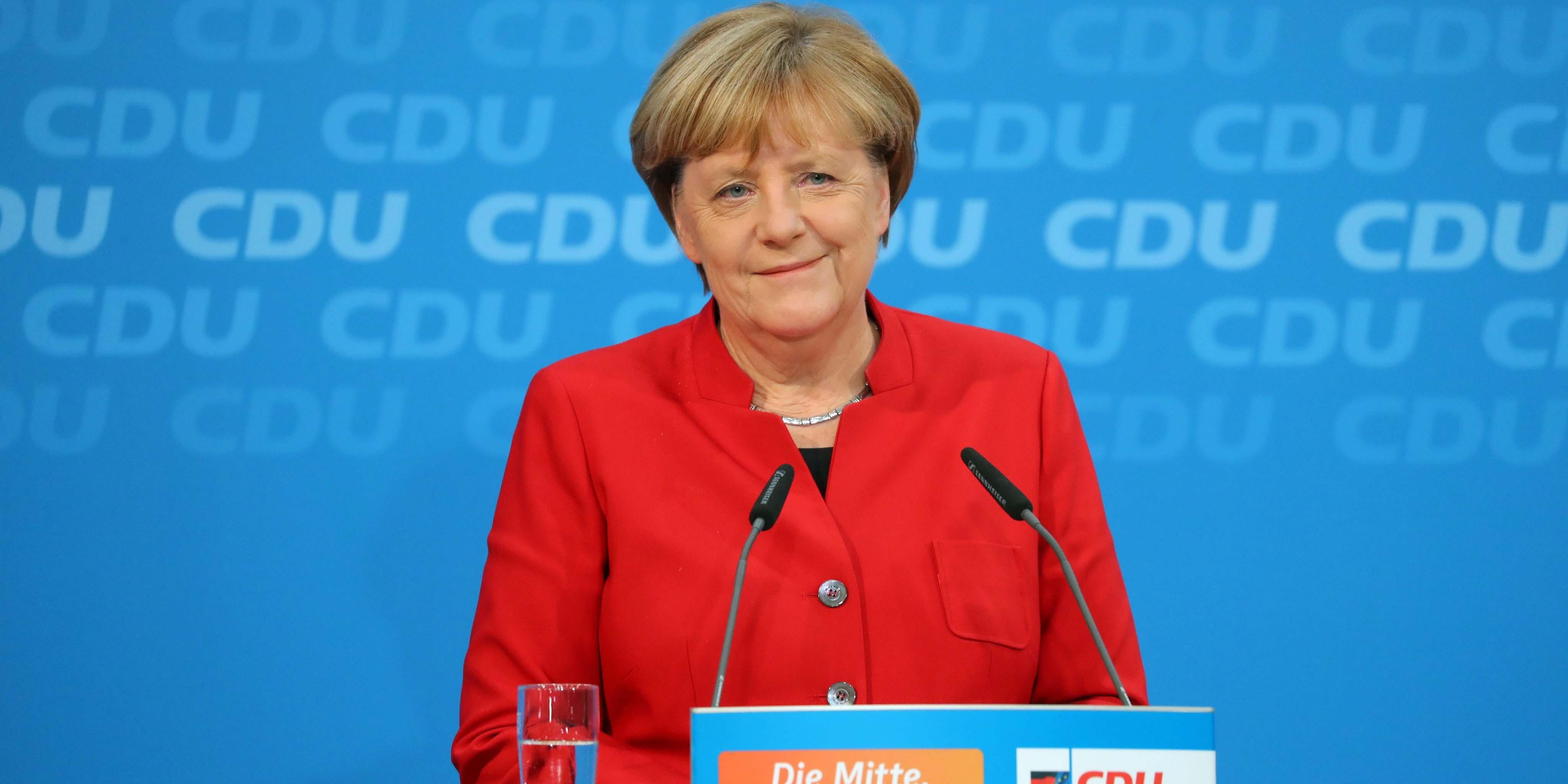 ابهامات نسبت به پیروزی دوباره مرکل در آلمان ارزش یورو را نزولی کرد