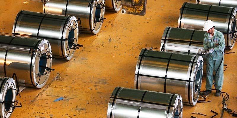 رشد نسبی قیمت فولاد در دنیا