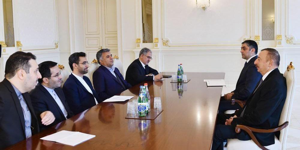 دیدار وزیر ارتباطات و فناوری اطلاعات با رئیس جمهوری آذربایجان
