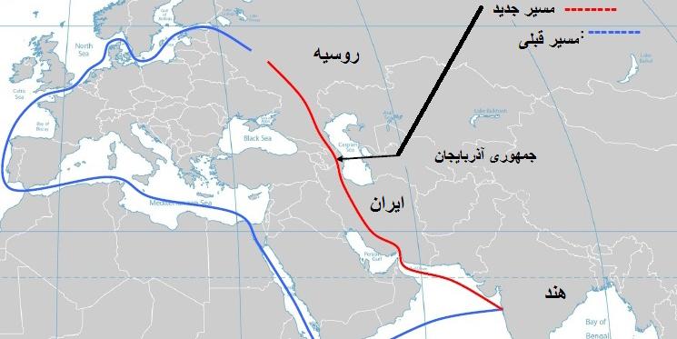 صادرات محموله های کانتیری هند به روسیه از طریق ایران