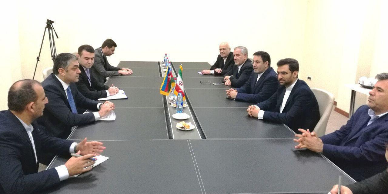 دیدار وزیرارتباطات و فناوری اطلاعات با همتای آذربایجانی