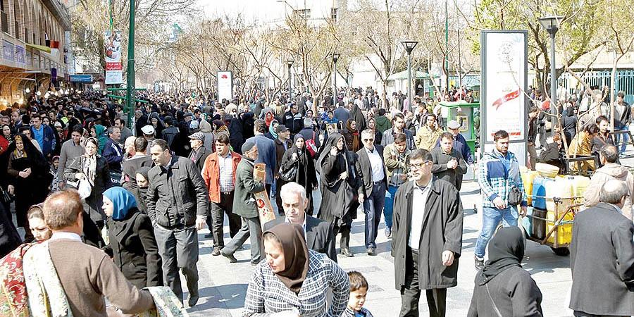 عبور جمعیت ایران از مرز ٨١ میلیون نفر