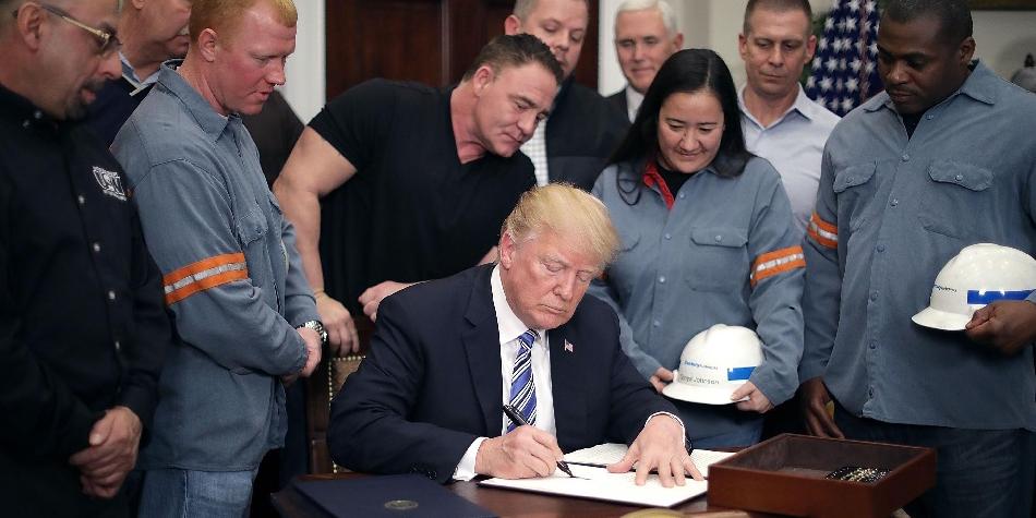 آمریکا از هفته آینده تعرفه جنجالی واردات را اعمال میکند