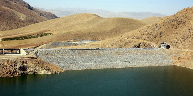 آغاز آبگیری سد ازگله در کرمانشاه