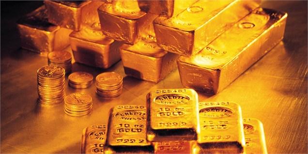 کاهش ۷ دلاری قیمت طلا/ احتمال تنش در سوریه مانع از افت بیشتر شد