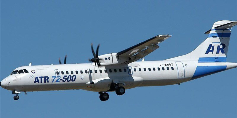 تحویل هشت فروند هواپیمای ATR72 در سال 2018 به ایران ایر