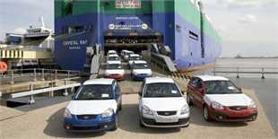 توقیف 4500 خودروی قاچاق در گمرک