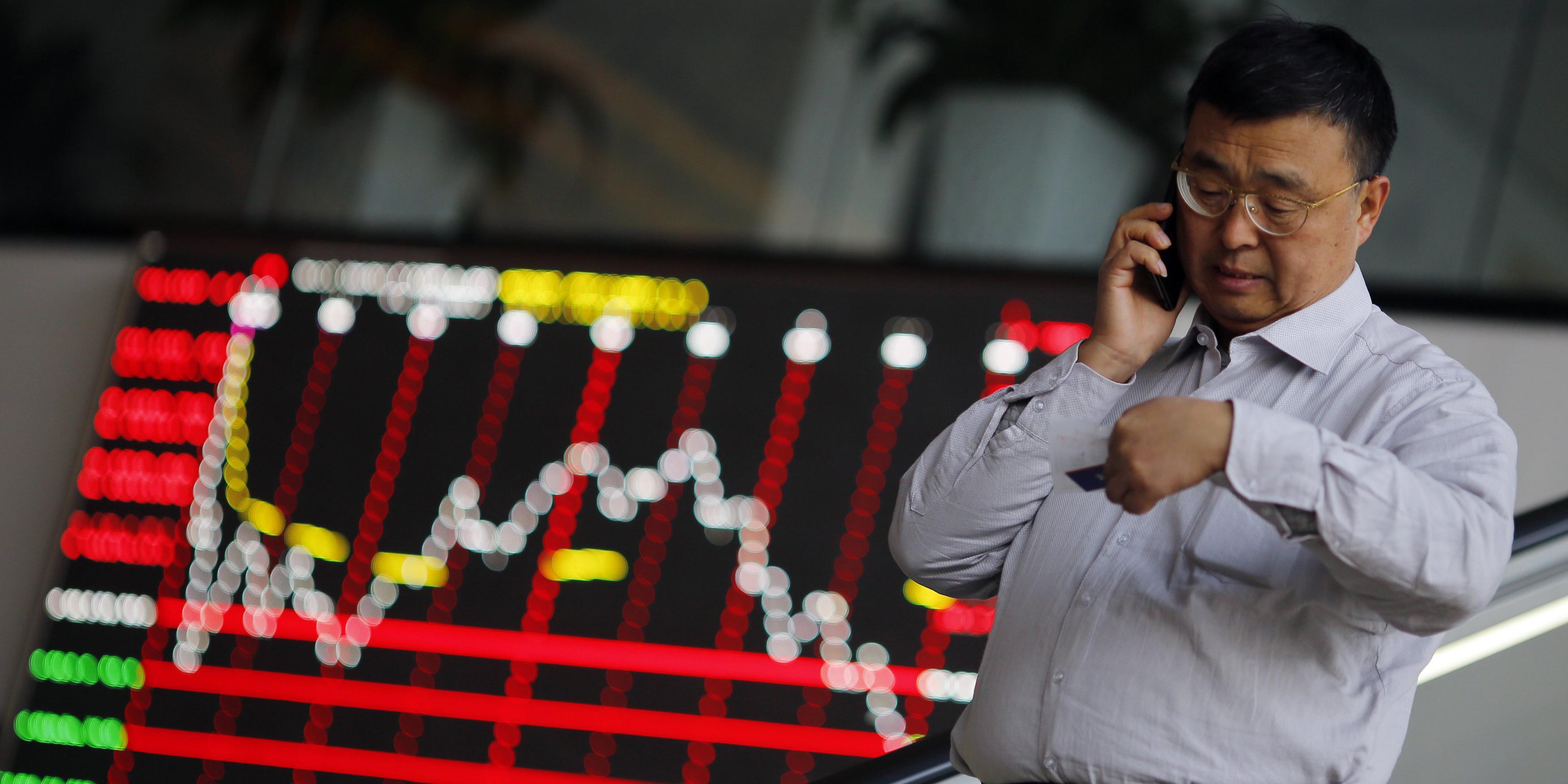 افت سهام آسیایی/ دلار به رکورد ۴ ماهه نزدیک شد