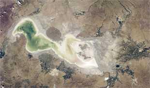احیای دریاچه ارومیه با آب ترکیه!