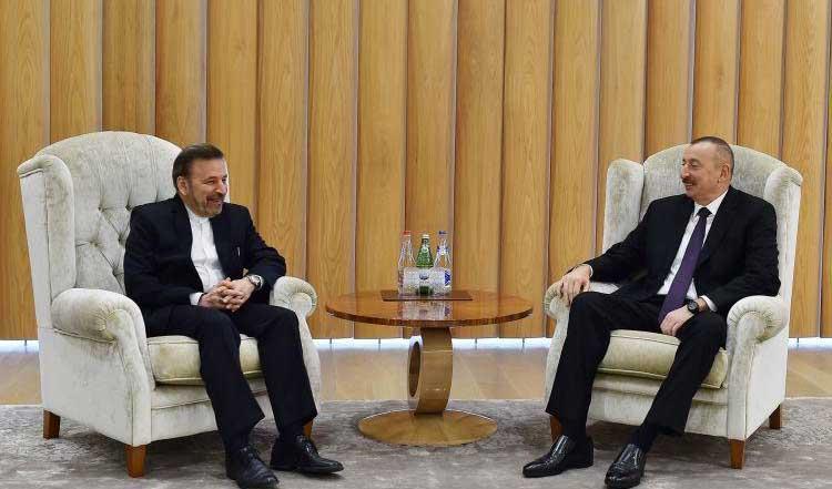 واعظی با رئیس جمهوری آذربایجان در باکو دیدار کرد