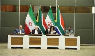 برگزاری دور دوم مذاکرات ظریف با وزیر خارجه آفریقای جنوبی