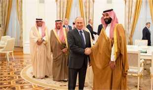 دیدار «بنسلمان» و «پوتین» در مسکو