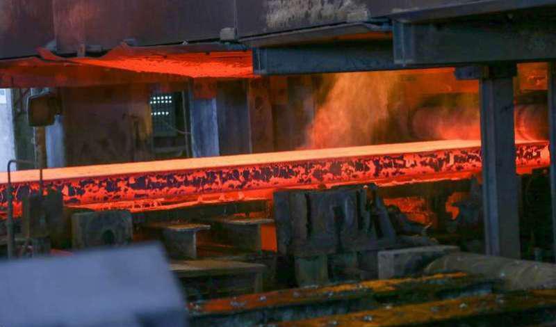 در بهار امسال تولید فولاد خام با رشد 17 درصدی از 4.8 میلیون تن گذشت