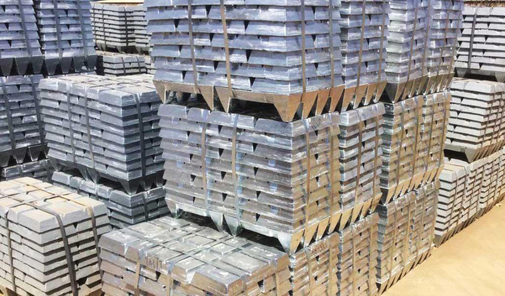نزول قیمت شمش روی در بورس فلزات لندن