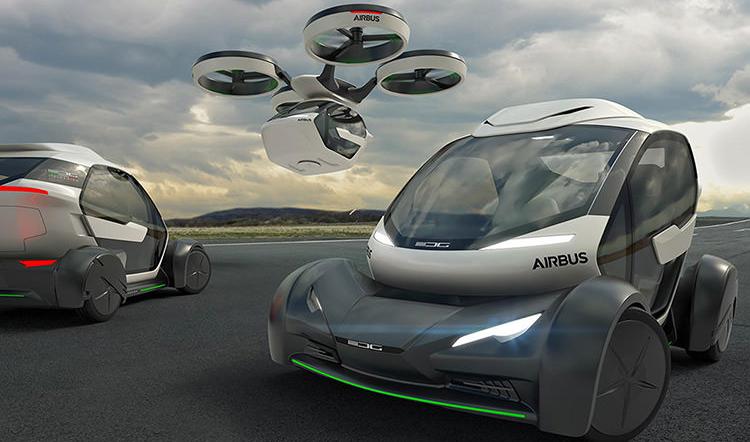 همکاری دولت ژاپن با «اوبر» و «ایرباس» برای ساخت خودروی پرنده