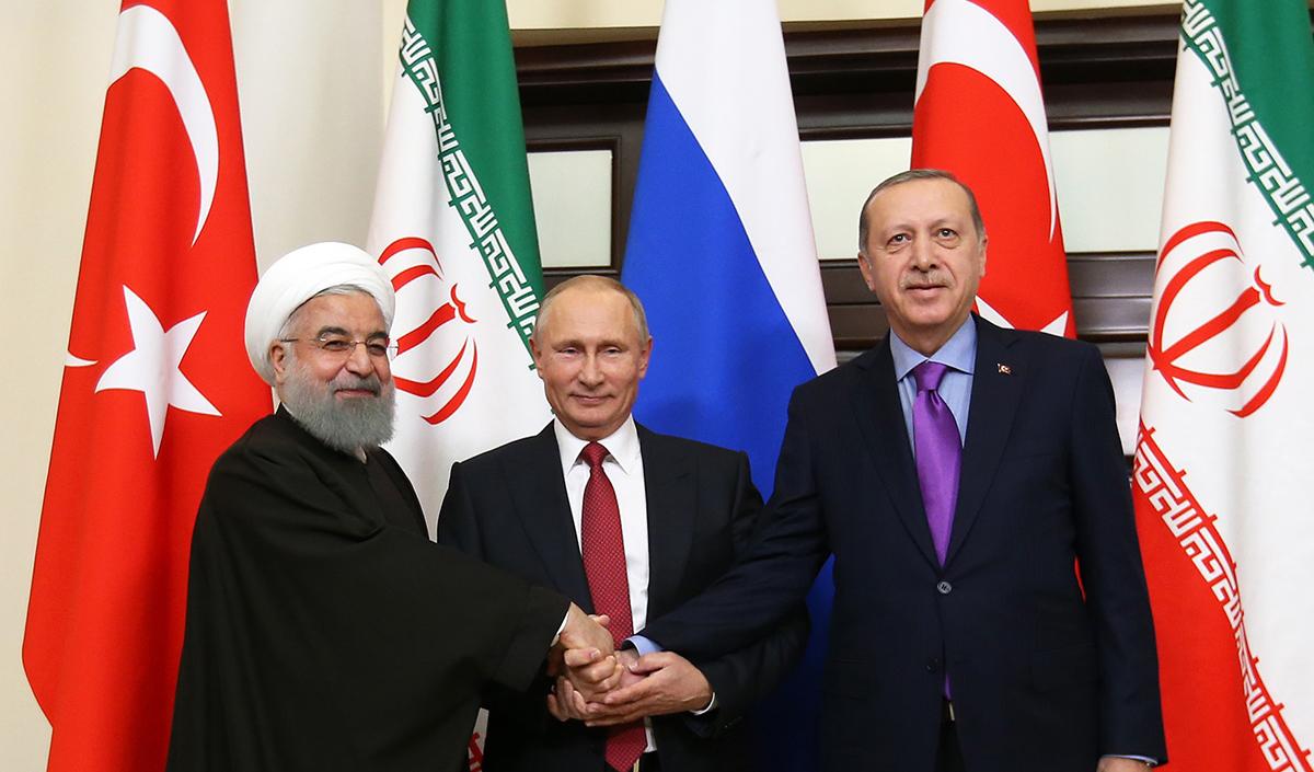 جزئیات نشست سران ایران، روسیه و ترکیه