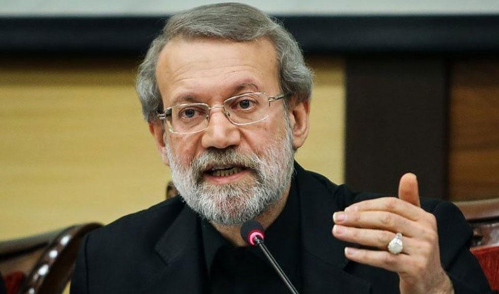 لاریجانی: در حل سیاسی توافق هستهای از جانب اروپاییها تردید داریم