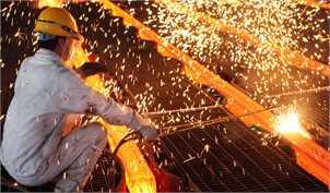 در بازارهای جهانی، سنگ آهن و فلزات قرمز پوش شد