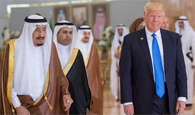 گفتگوی تلفنی ملک سلمان و ترامپ در خصوص بازار نفت