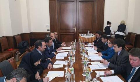 ملاقات روسای کل بانکهای مرکزی ایران و روسیه
