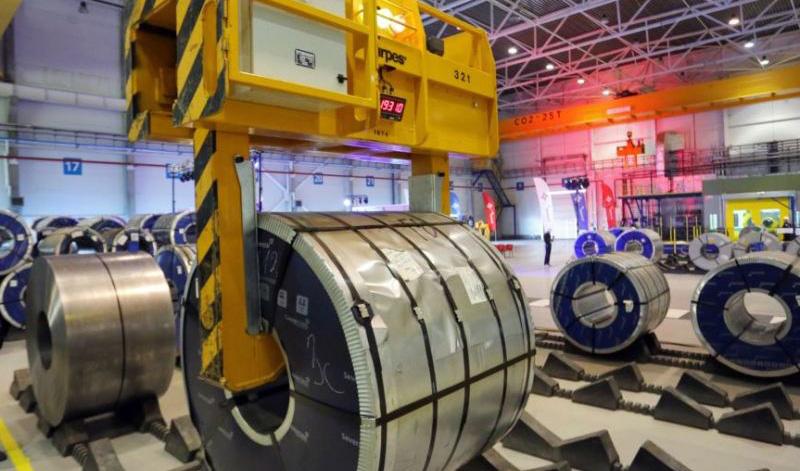 در نخستین روز هفته ۸۰ هزار تن شمش بلوم ۴ فولادساز کشور عرضه شد