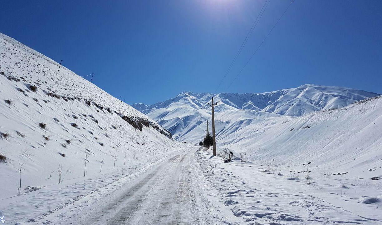 اعلام آخرین وضعیت جاده های برفی