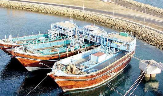 چینی ها در ساحل دریای جاسک ماهیها را غارت میکنند