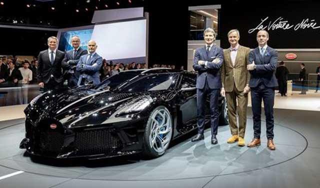 رونمایی از گرانترین خودروی جهان با قیمت ۱۹ میلیون دلار
