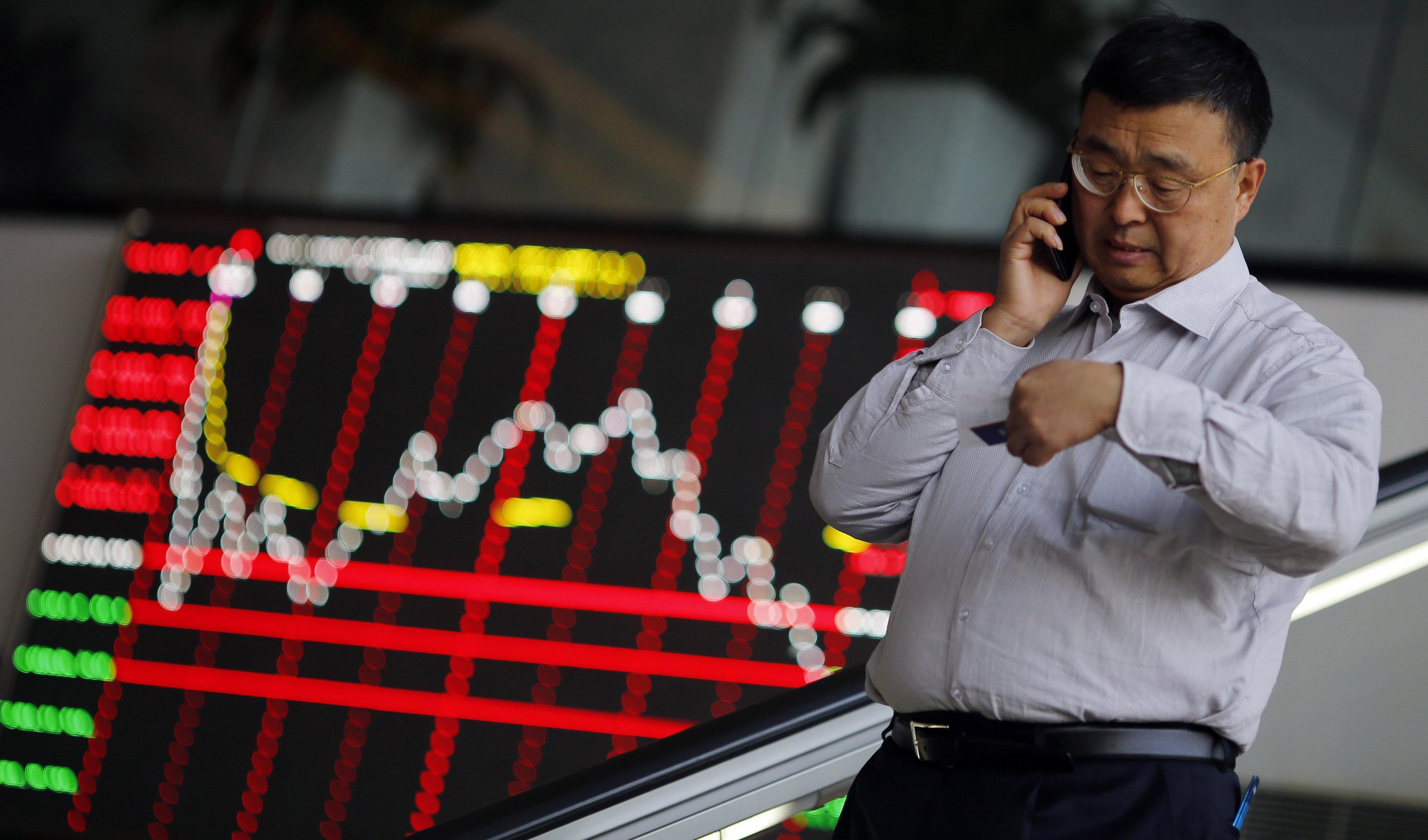 افت شاخصهای مهم سهام آسیایی
