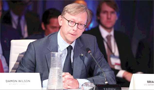 برایان هوک: آمریکا آماده ارتباط با دولت ایران است