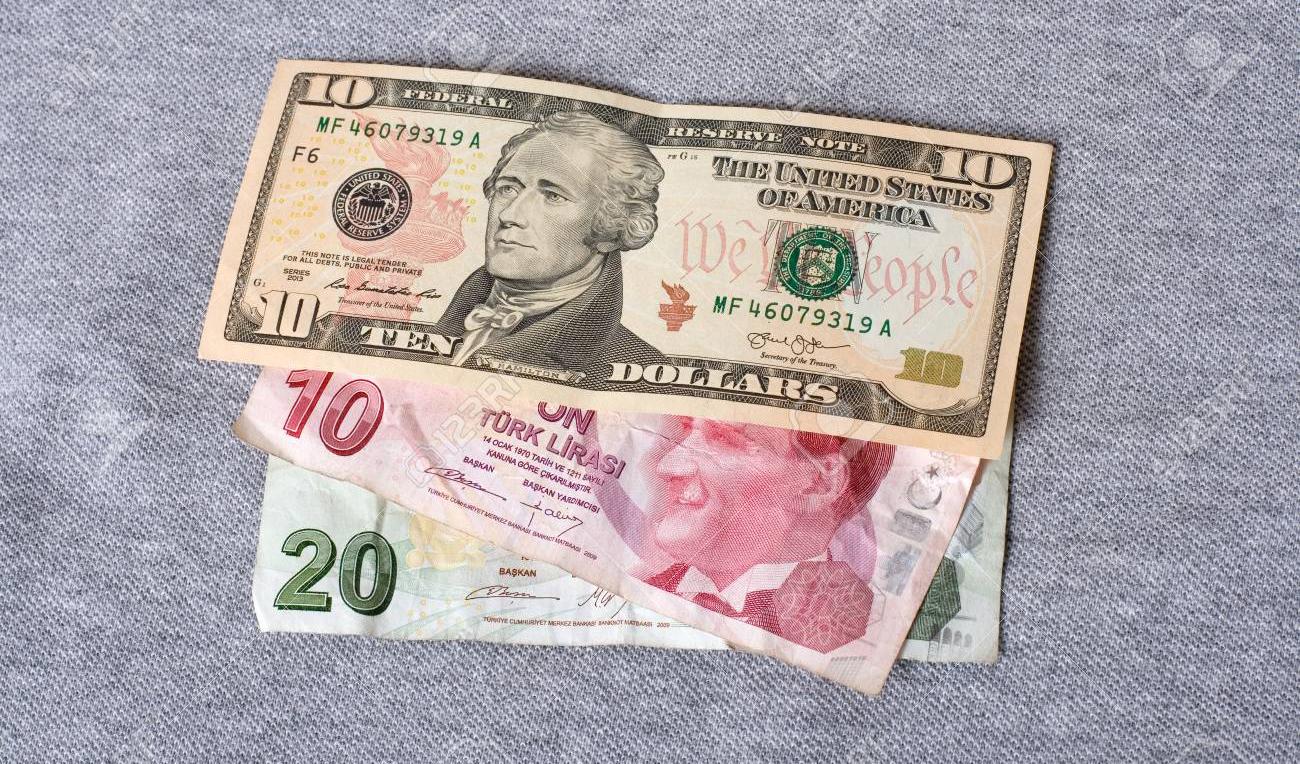 ارزش لیر ترکیه در برابر دلار سقوط کرد