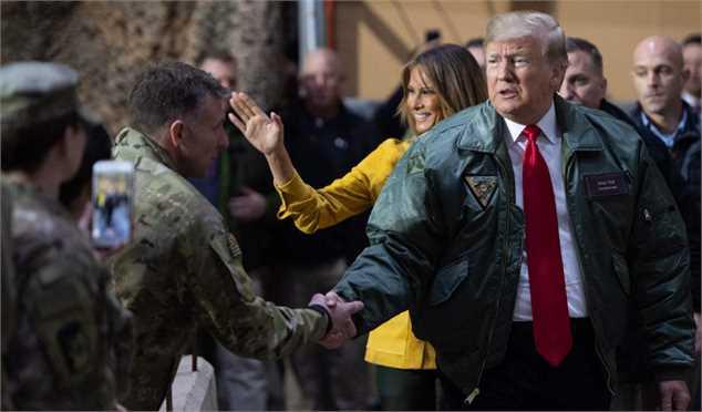 ترامپ به دنبال جنگ با ایران نیست