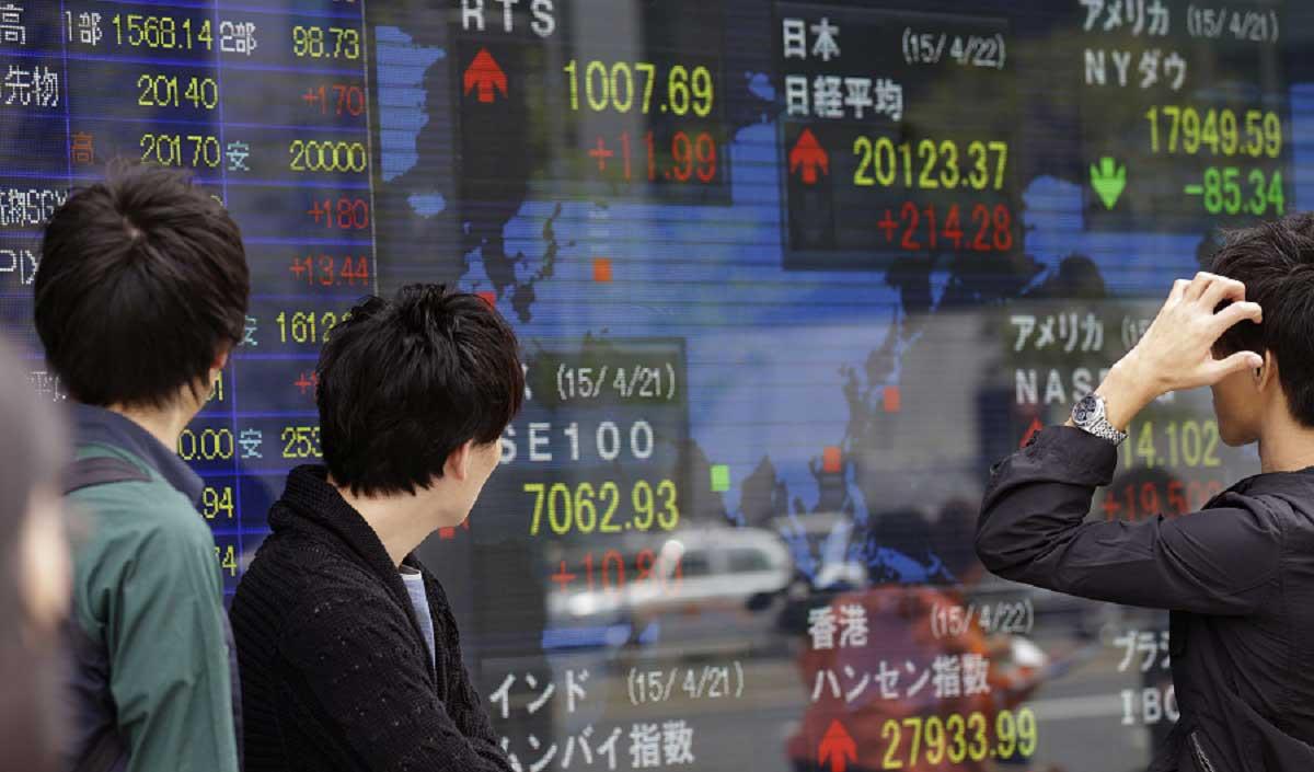 سهام آسیایی طی ۴ ماه اخیر در پایینترین سطح خود قرار گرفت