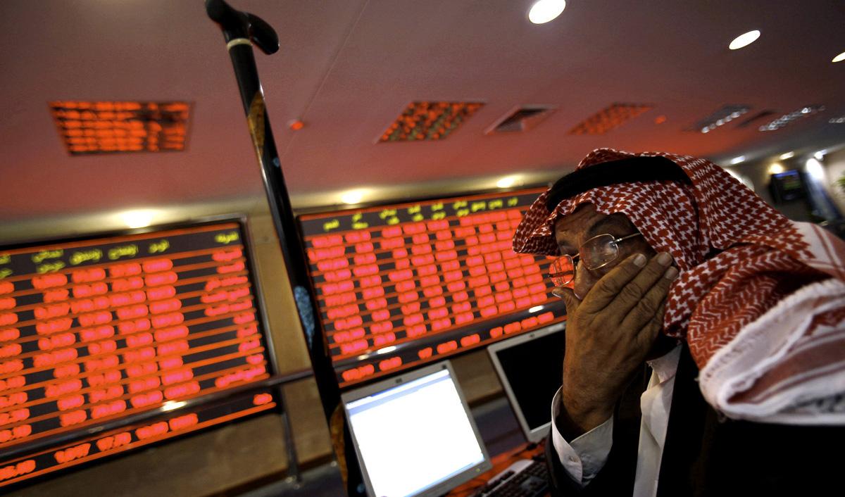 ادامه سقوط شاخص اصلی بورس عربستان