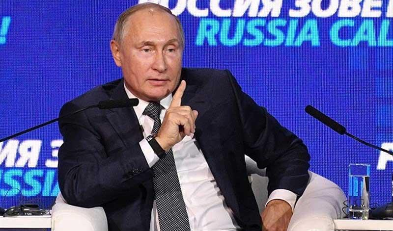 رییسجمهور روسیه: اعتماد جهان به دلار در حال کاهش است