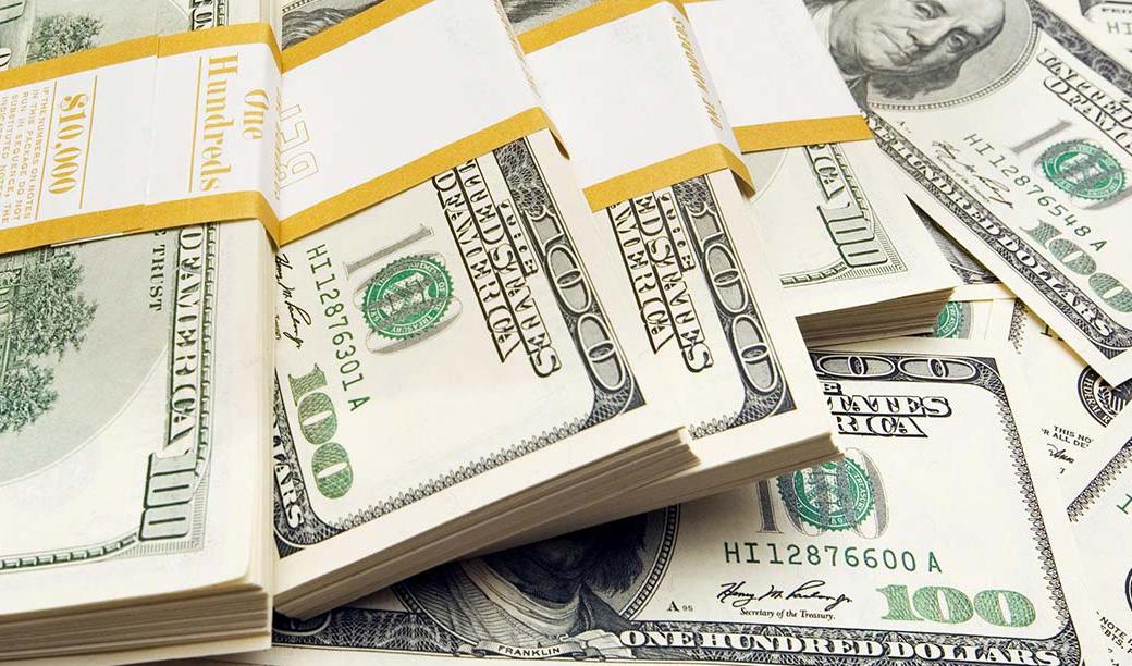 ارزش دلار سقوط کرد