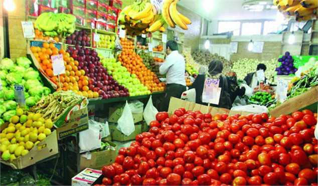 نوسان قیمت برخی اقلام میوه و صیفی در بازار/ حداکثر قیمت هر کیلو گیلاس ۳۲ هزار تومان