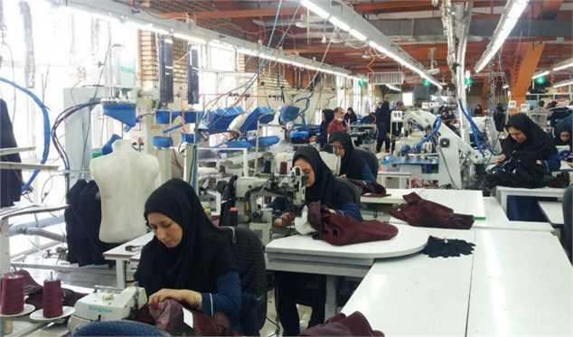 قاب آماری صنعت نساجی و پوشاک