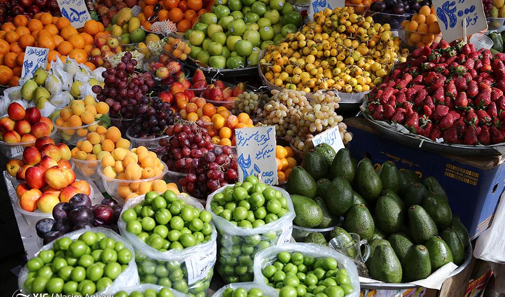 آخرین نوسانات بازار میوه و سبزی