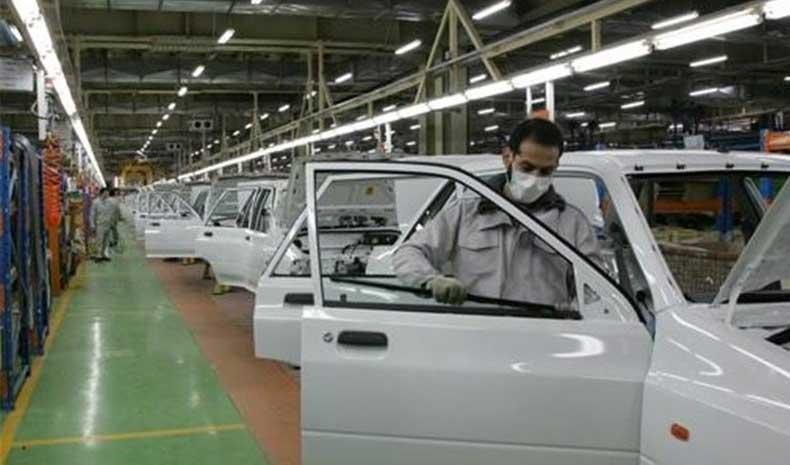 افت ارزبری ۲۰ میلیون یورویی صنعت خودرو در سال ۹۸