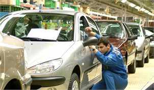 افت ۳۸ درصدی تولید خودرو تا پایان تیر