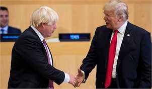 جانسون توافق تجاری با آمریکا را دشوار توصیف کرد