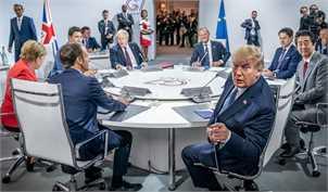 تنش در اجلاس جی 7 توسط ترامپ