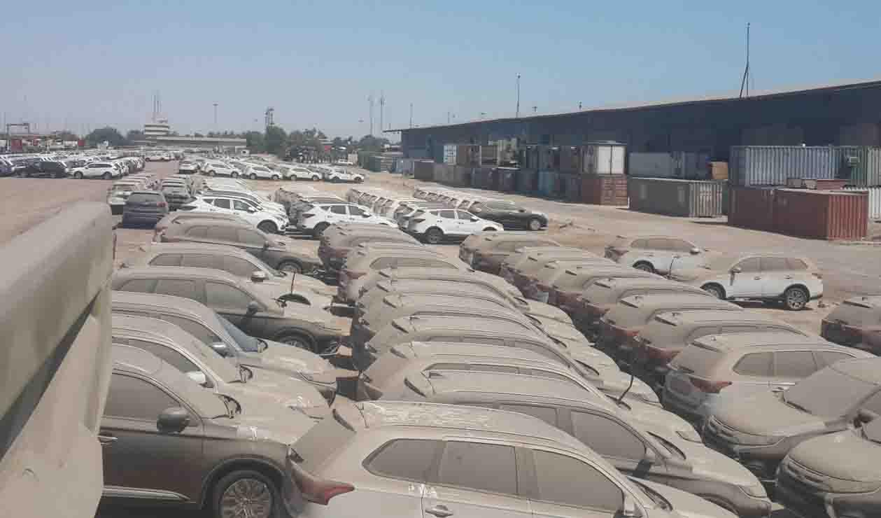 تعیین تکلیف خودروهای دپو شده در گمرک