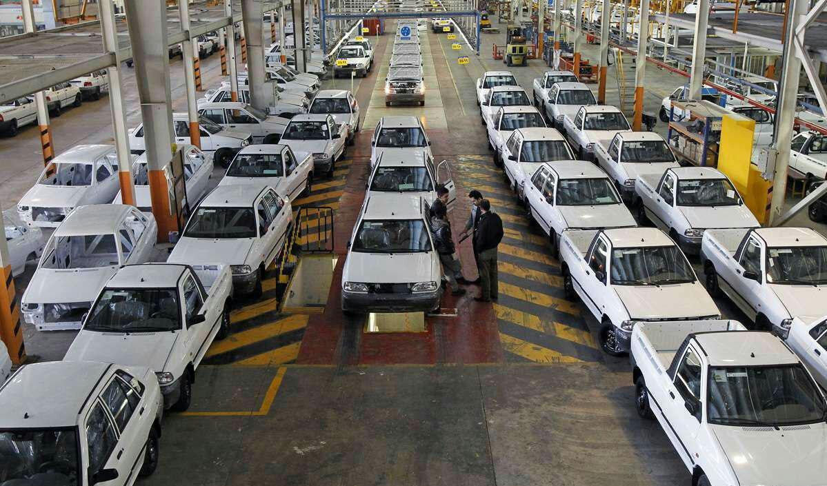 افت ۴۰ درصدی تولید خودروی سواری تا پایان مرداد
