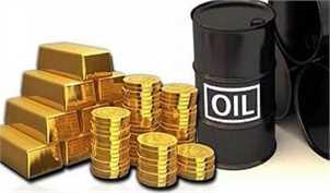نوسانات قیمت طلا و نفت
