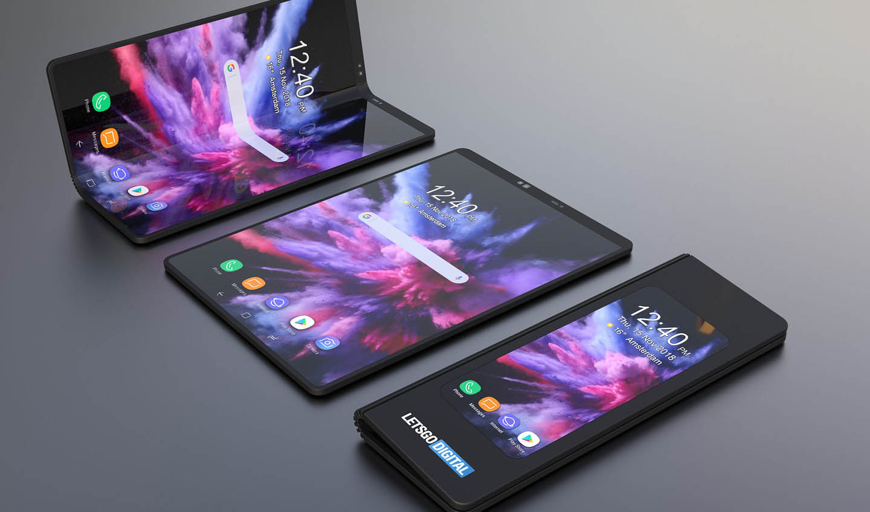 امید غول تکنولوژی کرهای به سربلندی گوشیهای تاشو