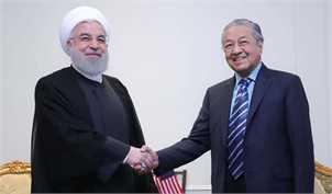 روحانی با نخست وزیر مالزی دیدار کرد