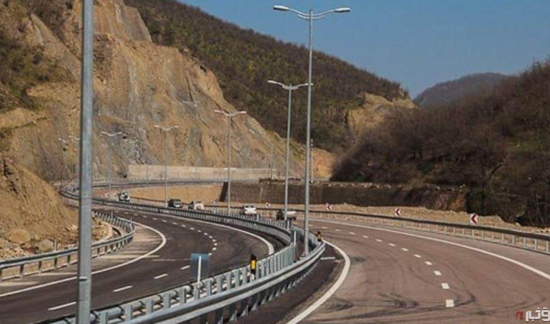 صرفهجویی ۸۶ میلیون لیتری سوخت با بهرهبرداری از قطعه اول آزادراه تهران-شمال
